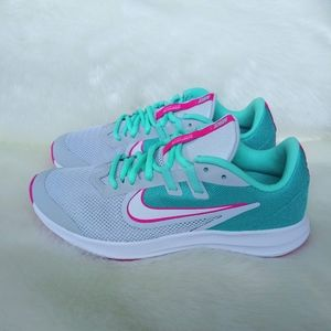Nike Downshifter Aqua Womens Sneakers
